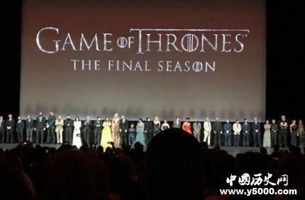 权游最终季首映礼权游最终季什么时候播?