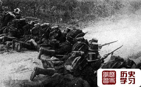 列日战役局部场景