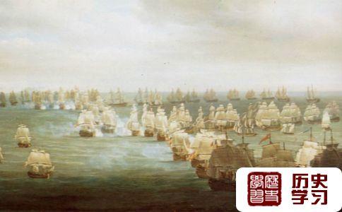 特拉法尔加海战图片