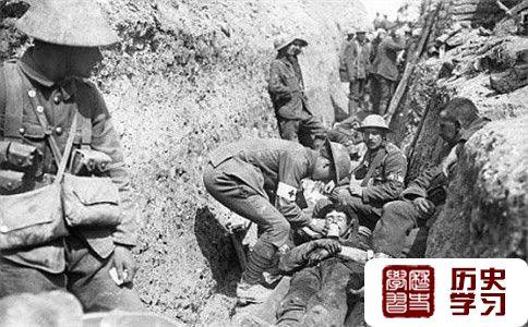 索姆河战役照片